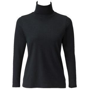 เสื้อคอเต่า BSFINE รุ่น BN1223 สีดำ ช่วยรักษาอุณหภูมิร่างกายให้คงที่