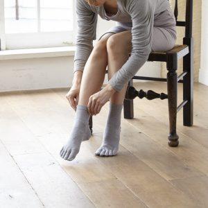 ถุงเท้าแบบมีนิ้ว
