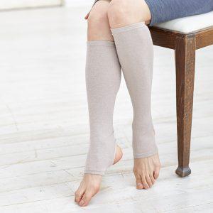 Warmer แบบยาว สีชมพู ช่วยให้ความอบอุ่นบริเวณน่องและข้อเท้า