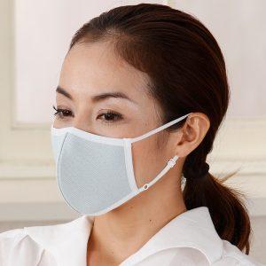 หน้ากากBSFINE ปรับสายได้ สำหรับผู้ที่มีอาการภูมิแพ้