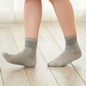 ถุงเท้ากันล้ม สีเทา
