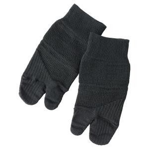 ถุงเท้าป้องกันนิ้วเท้างอ Loose Socks สีดำ