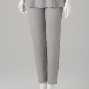 กางเกงลำลองขายาว สีเทา